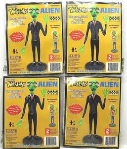 4 Weird Ohs Alien 2010 Hawk Static Plastic Model Kits #15995 I:6 Scale Lindberg