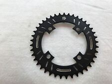 Snap BMX Products S4  104mm 4 bolt Chainring - 41t Black