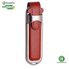 8GO USB 3.0 Clé USB Clef Mémoire Flash Data Stockage / PU Cuir BR