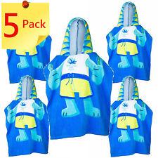 Bulk Pack 5 x Borobi Kids Hooded Beach Towel Gold Coast 2018 Commonwealth Games