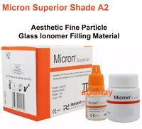 Dental Permanent Tooth White Filling Cement Mega Kit Self Cure Micron Orange