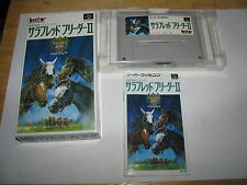 Thoroughbred Breeder II Super Famicom SFC SNES Japan import complete in box