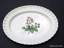 COPELAND SPODE china GLENDALE Chelsea Wicker ~  Serving Platter 14 5/8 X 11 1/4""
