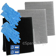 Cooker Hood Filter Kit for INDESIT Extractor Fan Vent Grease Carbon Filters