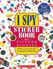 I Spy Sticker Book and Picture Riddles (Paperback or Softback)
