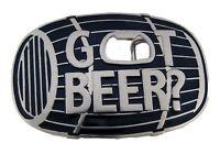 Bottle Opener Belt Buckle Western Rodeo Texas Usa Style Cowboy Silver Metal Big