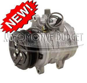 A/C Compressor w/Clutch for Suzuki Baleno w/10P08E 1995-2002 - NEW