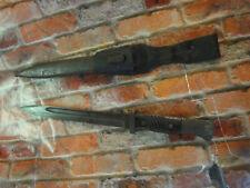 42Asw 6329 stamped Vintage Bayonet Knife w/ Scabbard estate find