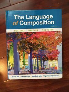 EUC The Language of Composition: Reading, Writing, Rhetoric AP ENGLISH HARDCOVER