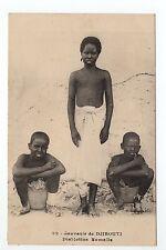 COTE DES SOMALIS Djibouti Somalis Afars Issas Abyssinie enfants Ethnies