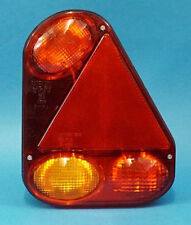 RH Radex 2900 9 pin 'Quick-Fit' Rear Trailer Light with Marker Power Outlet  #TR