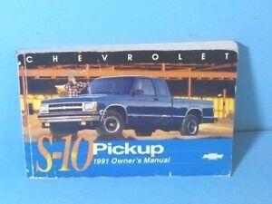Car Manuals & Literature Owner & Operator Manuals 2000 Chevrolet S ...