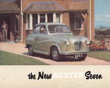 THE NEW AUSTIN SEVEN (A30 SHAPE) BROCHURE. PUBLICATION No.850.