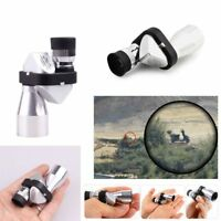 Climbing  Modern Design HD 8x20 Pocket Mini Telescope Corner Monocular Optical