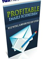 PROFITABLE EMAILS SCHREIBEN e-Book eBook Geld verdienen E-Mails NEU PLR-LIZENZ