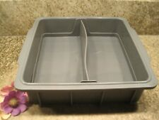 NuWave Silicone Bakeware Double Loaf Pan EUC