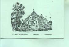 St Mary Magdalene Church Hewelsfield  Gloucestershire unused sketch postcard