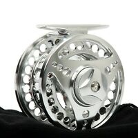 3/4WT Fly Reel 75mm Aluminum Large Arbor CNC Machined Fly Fishing Reel