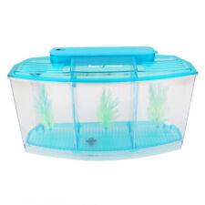 Aquarium LED Triple Aufzucht und Ablaichkasten Isolation Box Breeder Blau