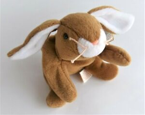 Ty Beanie Babies Plush Toy Bunny Rabbit Ears 22 cm With Tag 1995