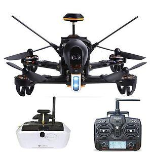 Walkera F210 Deluxe Racer Quadcopter Drone mit 5.8G Goggle4 FPV Brille / Devo 7