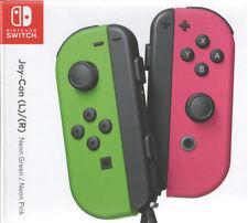 Joy Con Nintendo Switch - Neon Green/Neon Pink (Splatoon Ed) - Ships from USA