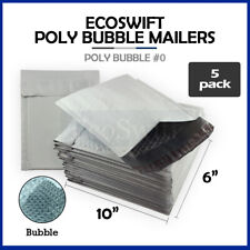 5 0 6x10 Poly Bubble Mailers Padded Envelope Shipping Supply Bags 6 X 10