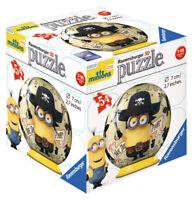 72001-V1 Ravensburger Minions Pirate 3D Puzzle 54pc  [Children's Jigsaw Puzzle]