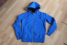 NWT MENS CONVERSE ALL STAR SZ XS BLUE HOODIE WIND RESISTANT