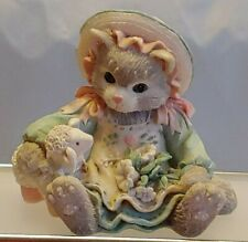 "Collectible Calico Kittens ""Blossoms Of Friendship"" Enesco No 623555"