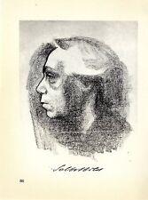 Käthe Kollwitz Die Werke: Delbstbild und Handstudien Historische Grafik um 1930