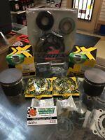 99'-01' Polaris 700 Piston Kits, Comp Gasket Kit Rebuild Kit XC SP, Rmk STD 81mm