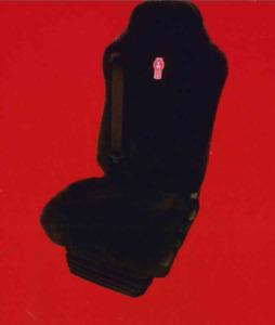 KENWORTH SEAT COVER DRIVER - FOR ISRI 6860 / 870 - SK1SR16860BRSB