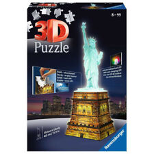 Ravensburger Estatua de la libertad 3D Puzzle noche Edition (108 piezas) NUEVO