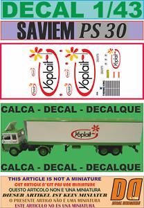 DECAL 1/43 SAVIEM PS30 TRAILER FRIGO YOPLAIT (08)
