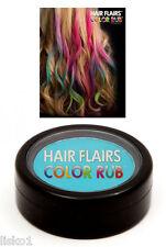 Hair Flairs Color Rub Temporary Vibrant Fun Hair Colors   .14 oz.   (Teal) LMS
