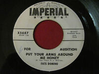 R&B 45 - FATS DOMINO - PUT YOUR ARMS AROUND ME HONEY / THREE - IMPERIAL 5687
