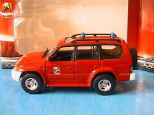 TOYOTA LAND CRUISER PRADO SAPEUR POMPIER SOLIDO 150107 1/43 POMPIERS FIRE ENGINE