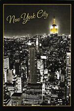postcard post card NEW YORK City skyline Empire State Building USA #31