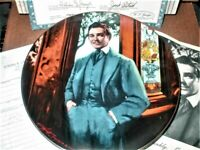 "1989 50th Anniversary Gone With the Wind ""Frankly, My Dear"" China Plate - MINT"