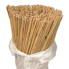 200 x 3ft Heavy Duty Bamboo Garden Canes Strong Thick Quality Plant Support