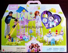 Happy Family 1st Birthday Party Backyard Playset Barbie Doll Midge Nikki Ryan