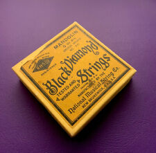 Vintage Mandolin String Catalog Case Candy for Vega Supertone Kay Gibson Martin