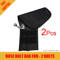 2X Atac Pro Rifle Bolt Bag For 2 Bolt Capacity Bolt Storage Protection AtacPro