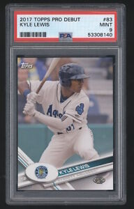 2017 Topps Pro Debut KYLE LEWIS Prospect #83 Seattle Mariners 140 PSA 9