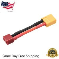 Charge Cable Adapter for Deans Female to XT60 Male DJI Phantom LiPo Lead M501