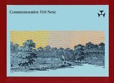 1988 Australia Bicentenary Folder Ten Dollars AA 16002448