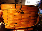 Discount! Longaberger Small Picnic Basket - No Date on Bottom - $12 s/h