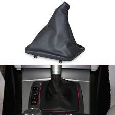 Black Gear Stick Gaiter Boot Cover For Mercedes-Benz C E S CLASS C180 E200 S280