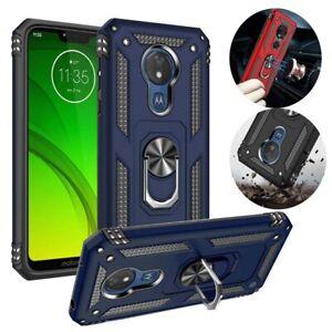 For Motorola Moto G7 Power /Supra/E6/G Play Phone Case Shockproof Armor Cover